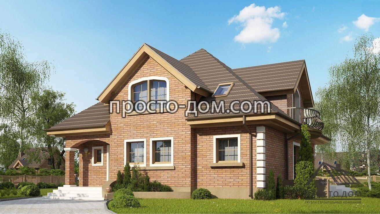 Дом из кирпича под ключ (2)