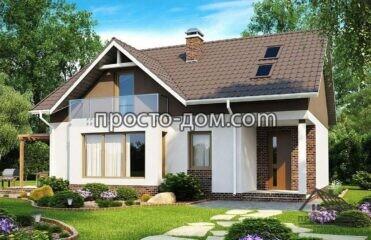 Двухэтажный дом до 140м2 (1)