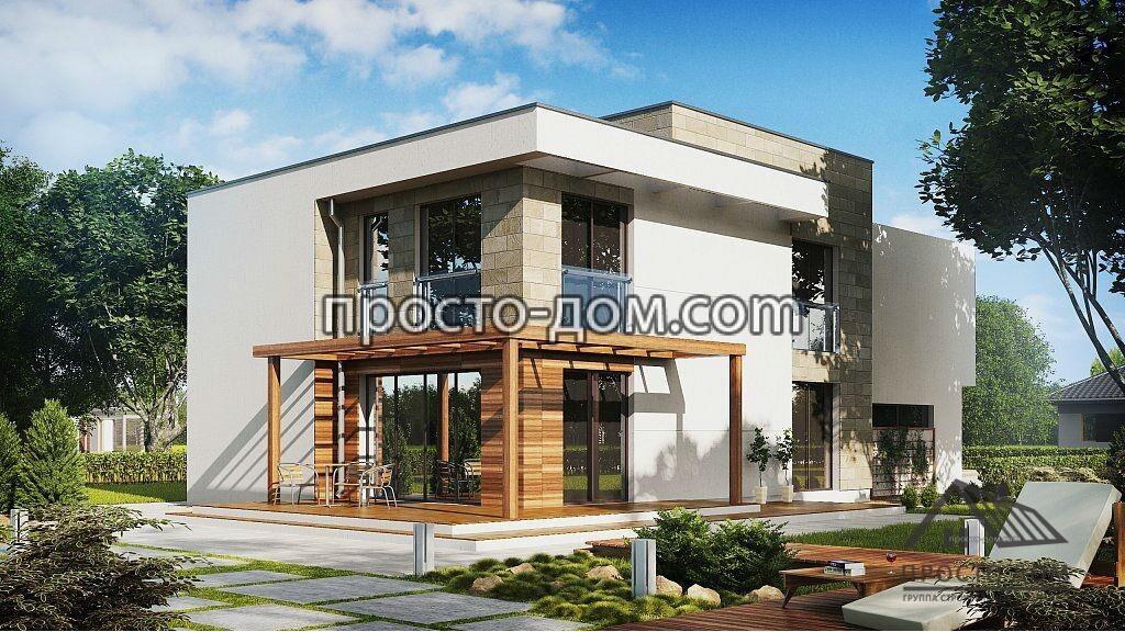 Дом в стиле модерн - лучшие проекты типовых домов (80 фото новинок)