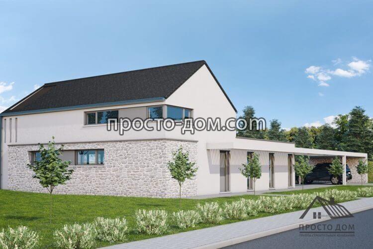 Проекты домов из газобетона 107 фото строительство и внутренняя отделка конструкций из газоблока своими руками