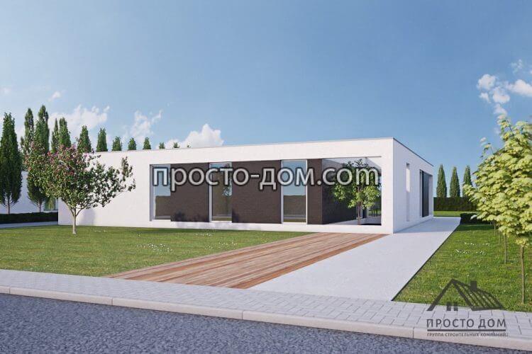 Проект дома с плоской крышей 76 фото отличие прямой от односкатной кровли оформление в стиле хай-тек для каркасных зданий